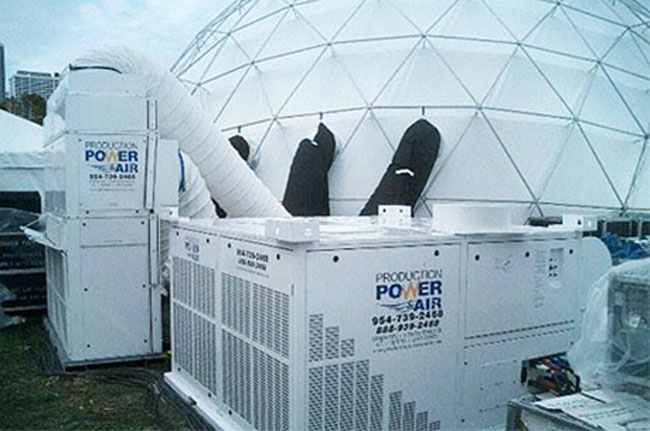 Production Power Generator And Portable Ac Rentals